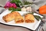 Pizza Rolle in Filo Teig Rezept