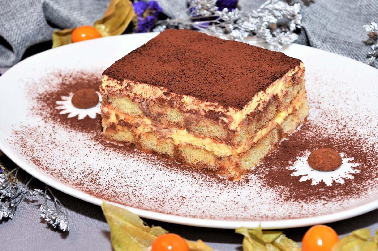Cappuccino Tiramisu mit Amaretto Rezept