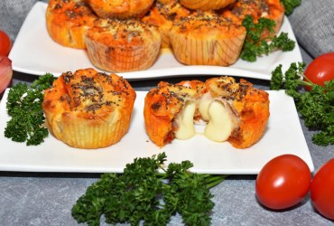 Muffins mit Nduja Snack Rezept