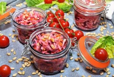 Kohlrabi Möhren Salat Rezept