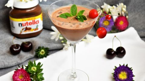 Nutella Prosecco Cocktail