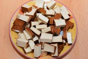 Mediterraner Gemüse Tofu