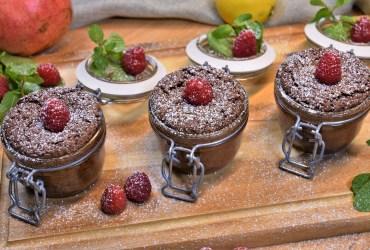 Schoko Nuss Kürbis Kuchen im Glas Rezept