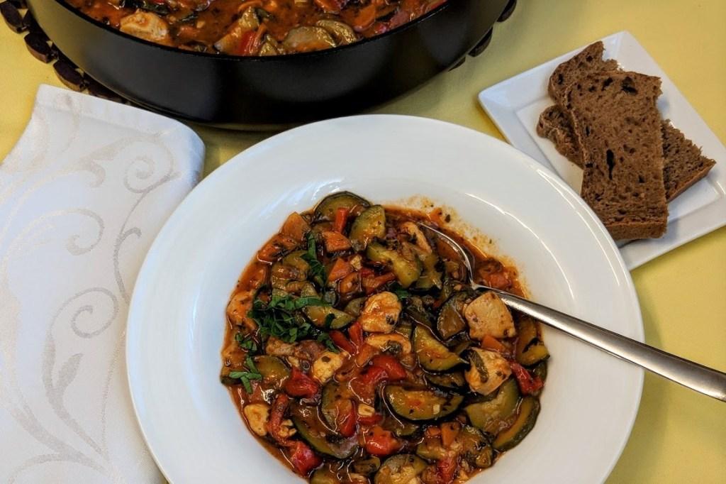 Gesunde Zucchini-Pfanne Rezept