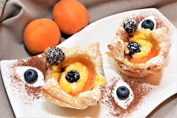 Aprikosen Muffins Nachtisch