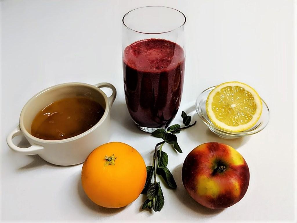Power-Getränk aus Rote-Bete