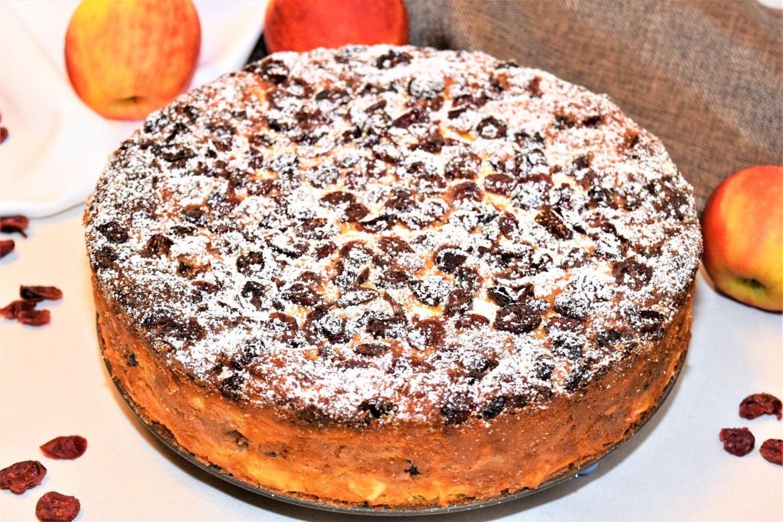 Einzigartiger Nudel-Apfel-Kuchen