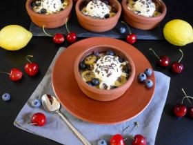 Gegrillte Ananas mit Heidelbeeren-Rezepte-BallesWorld