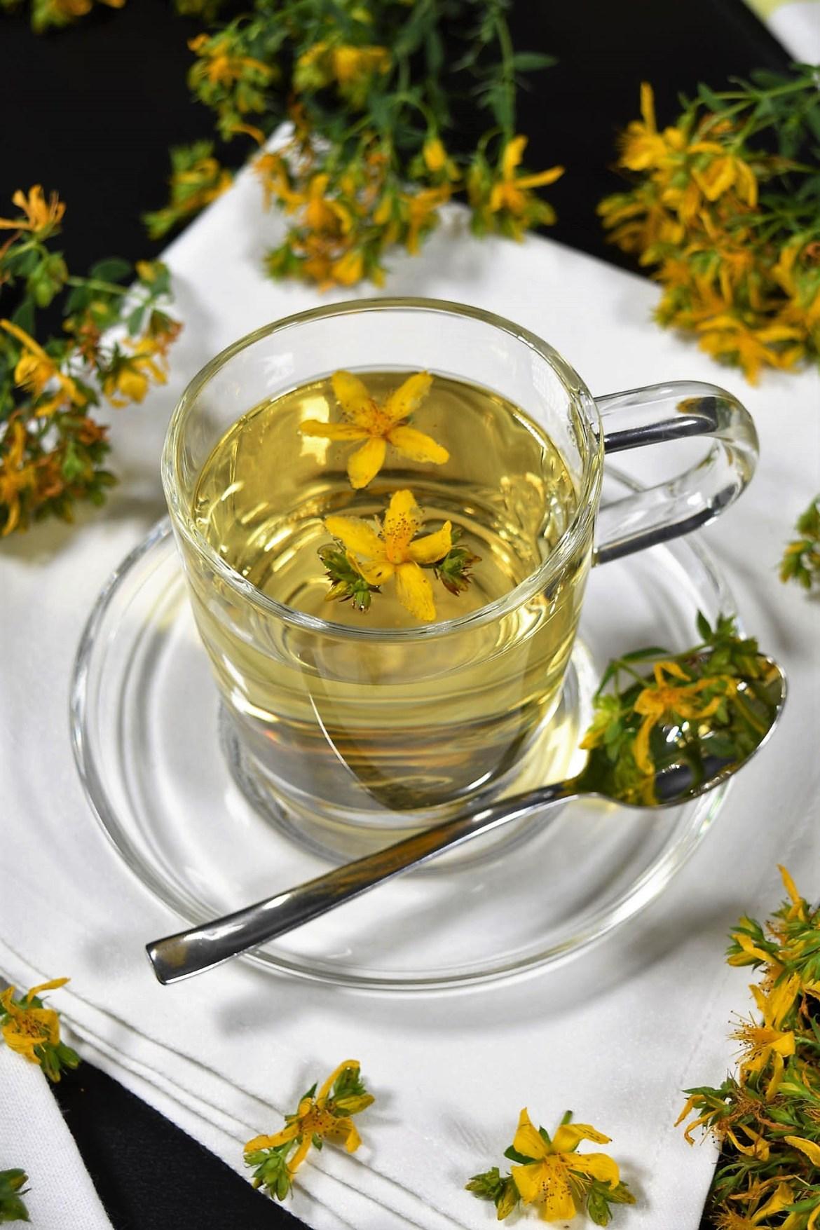 Johanniskraut Tee-Gesund Leben-BallesWorld