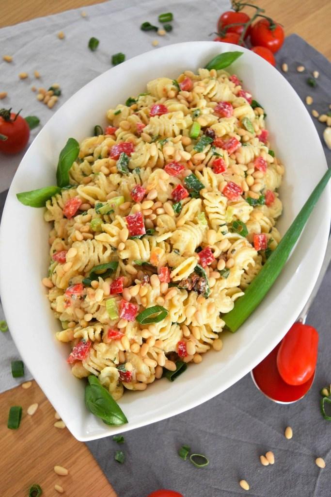 Nudelsalat vom Feinsten-makkaroni salat-ballesworld