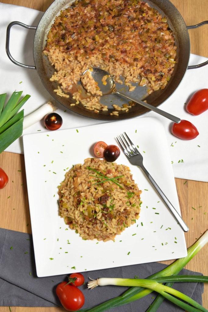 Reis-Lauch-Tomaten Auflauf-Gesund-ballesworld