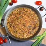 Reis-Lauch-Tomaten Auflauf-Rezept-ballesworld