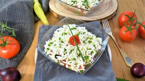 Bauern Salat nach mazedonischer Art