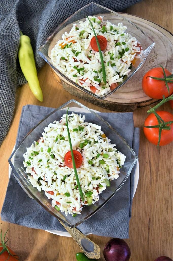 Bauern Salat nach mazedonischer Art-Vegetarisch-ballesworld