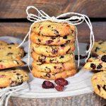 Bunte Cranberry Cookies-Rezept-ballesworld