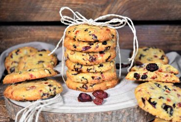 Bunte Cranberry Cookies-Rezept-ballesworld