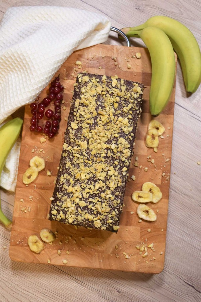 Bananen Kasten Kuchen-Bananen Mehl-ballesworld