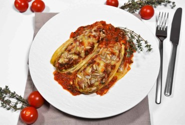 Chicorée-Tomaten-Auflauf -Rezept-ballesworld