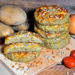 Kartoffel Taler mit Käse überbacken-Rezept-ballesworld