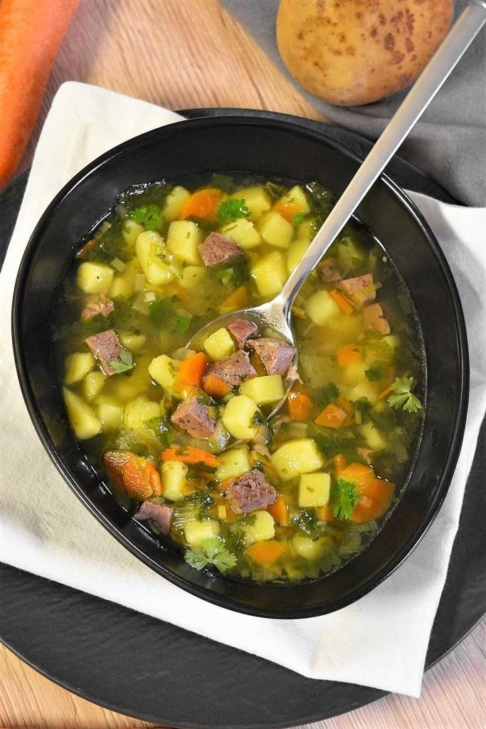 Kartoffeln-Rinderleber Suppe-Gesund-ballesworld