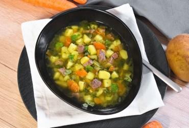 Kartoffeln-Rinderleber Suppe-Rezept-ballesworld