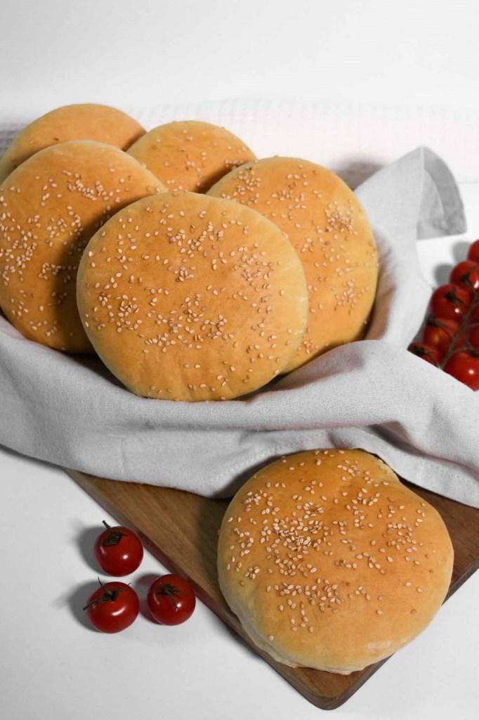 Hamburger Brötchen-Burger Buns-ballesworld