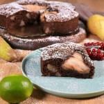 Schokolade-Birnen Kuchen-Rezept-ballesworld