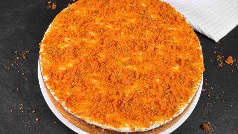 Möhren Orangen Kuchen mit Crunch-ballesworld