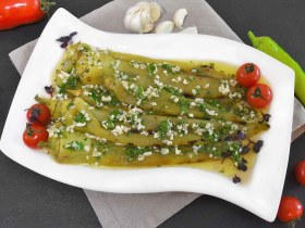 Salat aus gegrillter Paprika-Rezept-ballesworld