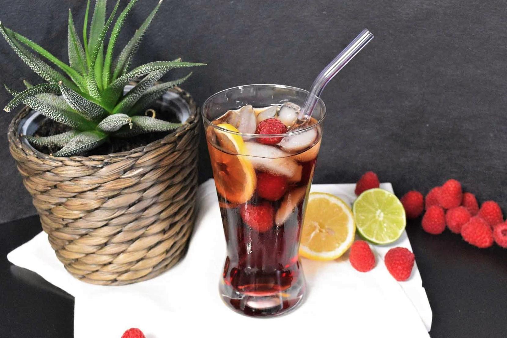 Cola Himbeerlikör Cocktail