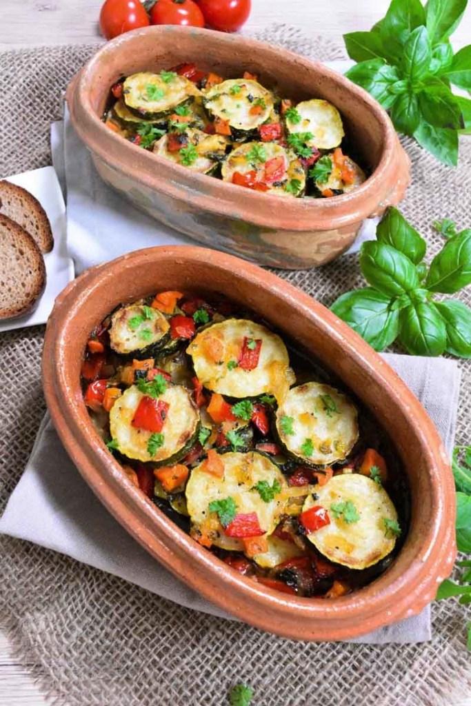 Zucchini-Auflauf nach Omas Art-Gesund-ballesworld
