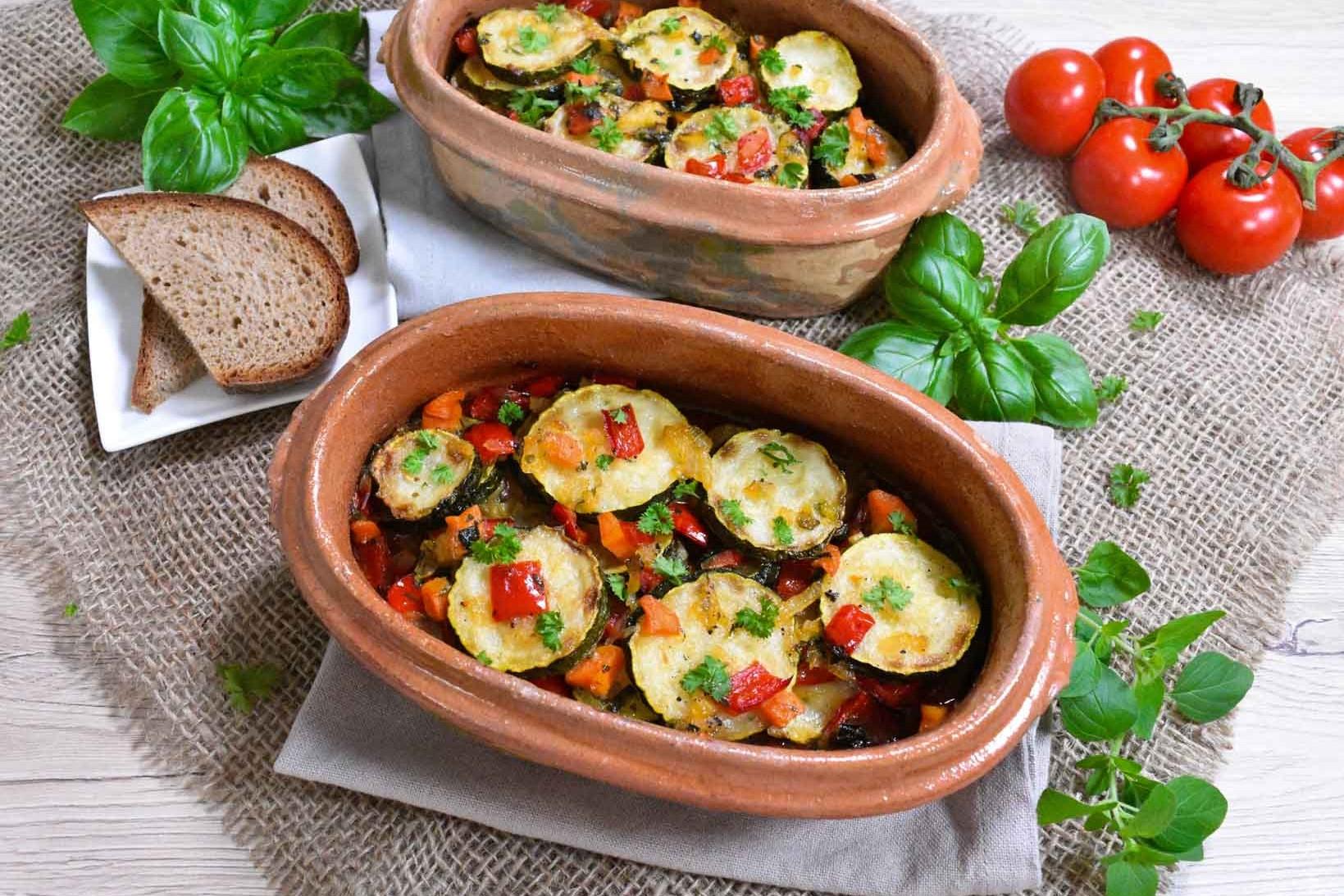 Zucchini-Auflauf nach Omas Art