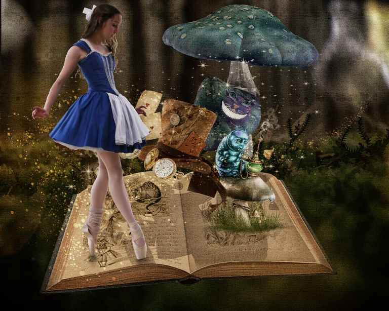 alice storybook