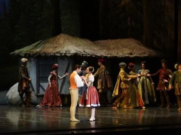 Pas de Deux des Paysans Alessandra (Vassallo et Walter Madau)