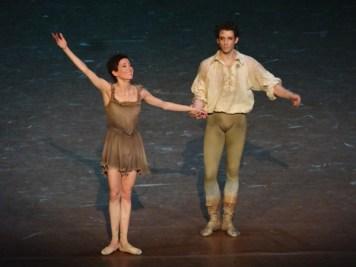 Ludmila Pagliero et Josua Hoffalt