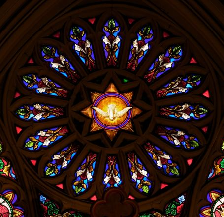 Saint-Patricks-Old-Cathedral-stained-glass-window-rose
