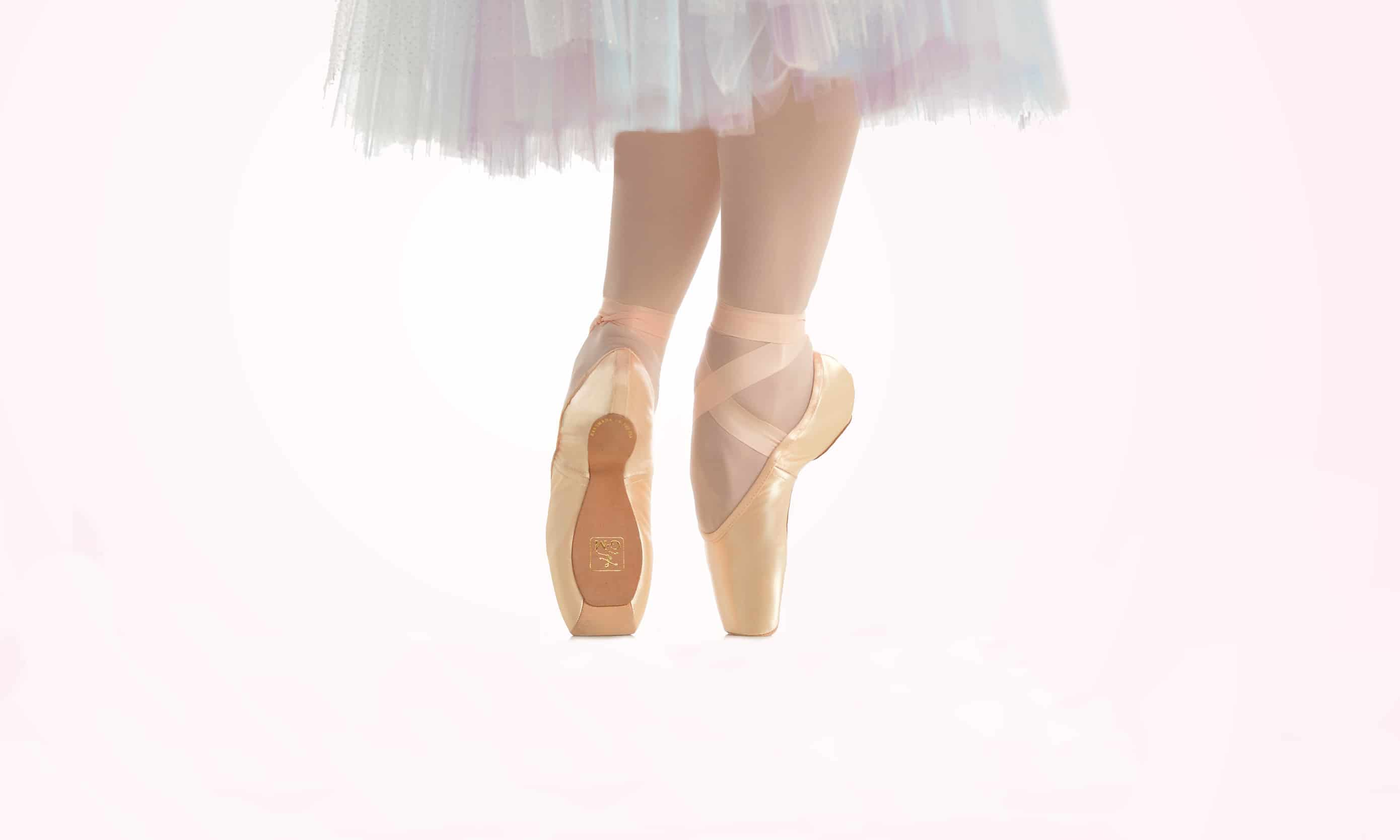 Ballet shoes? No, just someone getting artistic with the