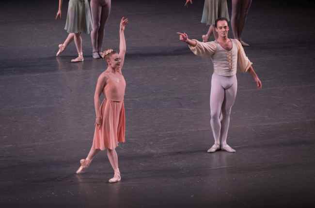 Sarah Mearns and Tyler Angle, Allegro Brillante, NYCB All Balanchine Review
