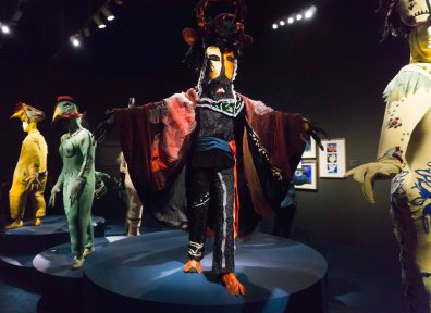 Firebird ballet costumes by Marc Chagall