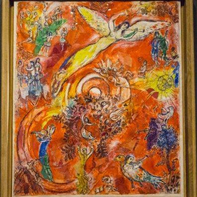 Triumph of Music, Marc Chagall