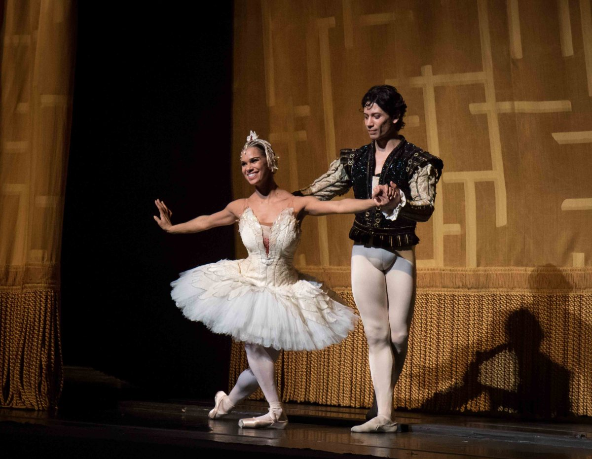 Misty Copeland Herman Cornejo review Swan Lake