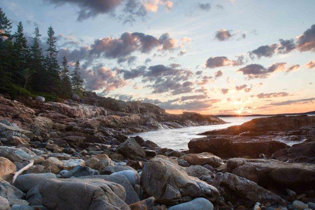 Acadia National Park Great Head Trail photos