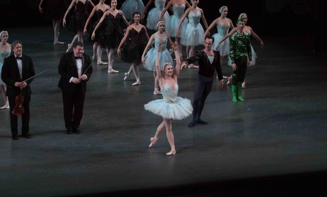 Sara Mearns and Jared Angle, NYCB Swan Lake