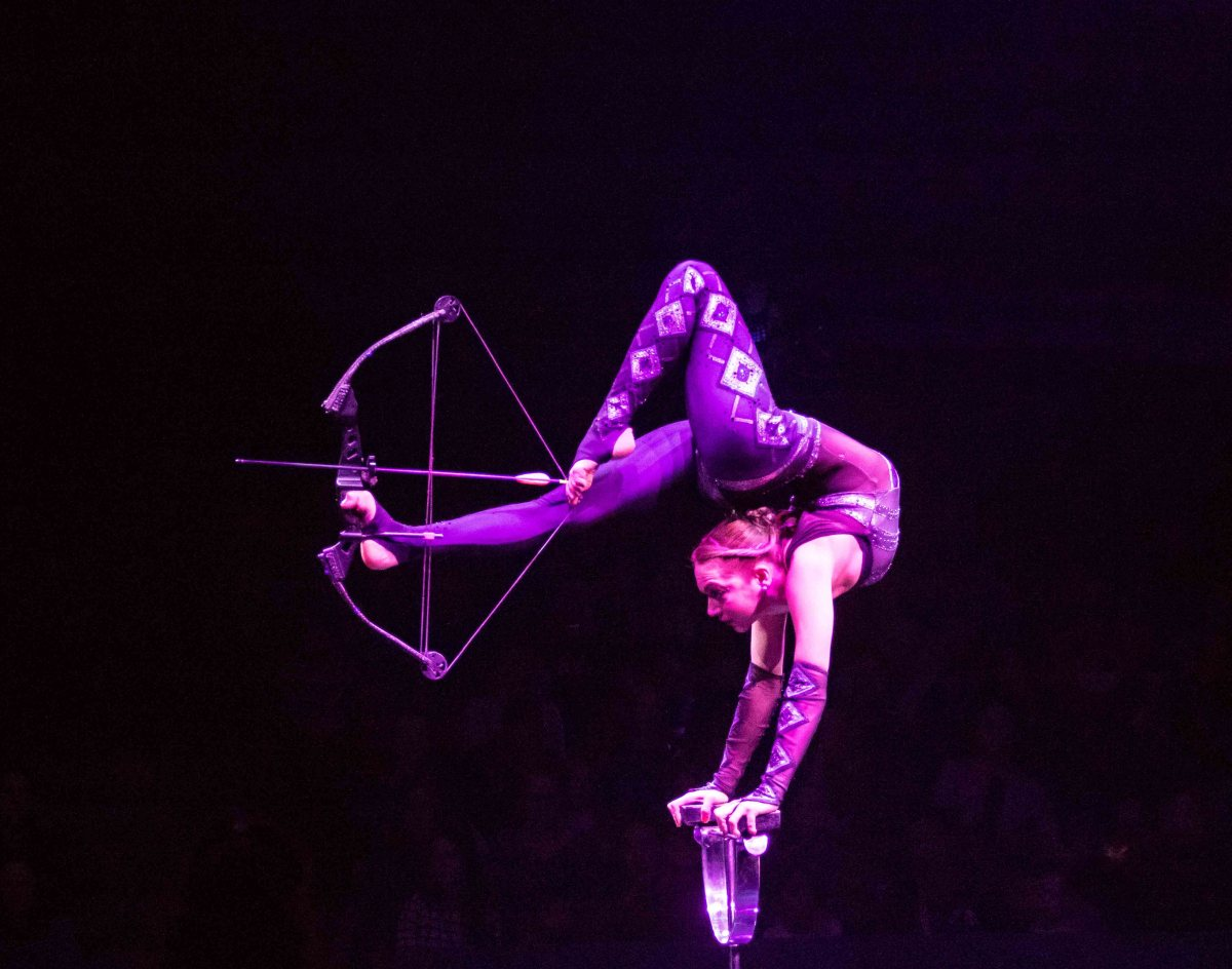 Elayne Kramer Big Apple Circus is Back