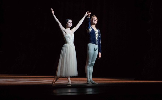 Natalia Osipova, David Hallberg Electric in Giselle