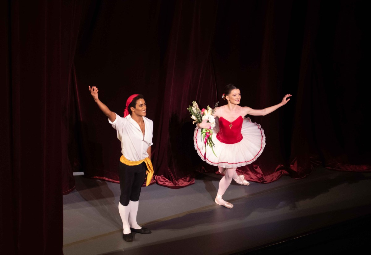 City Center Celebrates Balanchine Works, Anna Rose O'Sullivan and Marcelino Sambé, Tarantella.