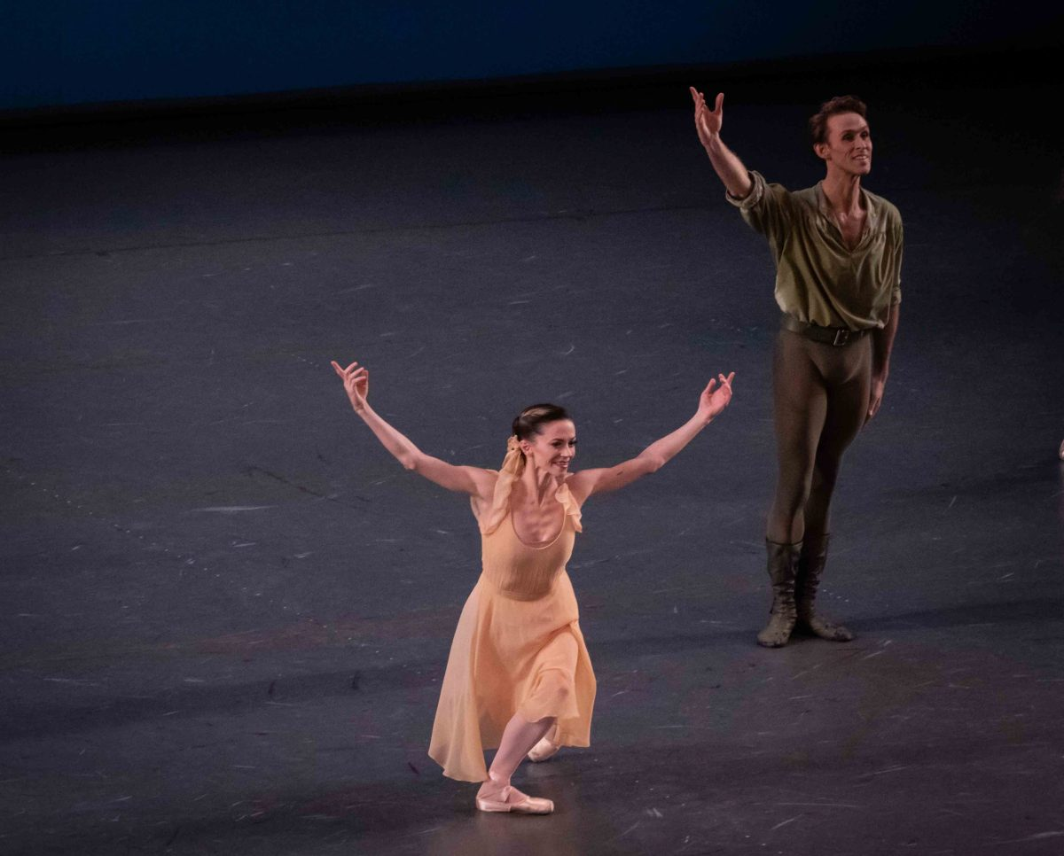 Megan Fairchild and Adrian Danchig-Waring, Dances at a Gathering. Click for more photos.