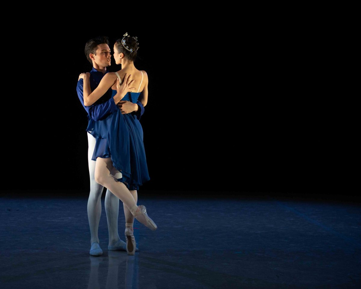 "Betsy McBride and Patrick Frenette in ""That Which Never Was"". Photo by Luis Pons, Duncan Lyle Dance"