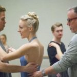 Bruce Wells working with Grand Rapids Ballet dancers, Photo Courtesy of Grand Rapids Ballet