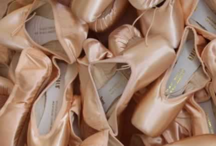 Ballet Slipper & Shoe Recycling – The Footloose Mission